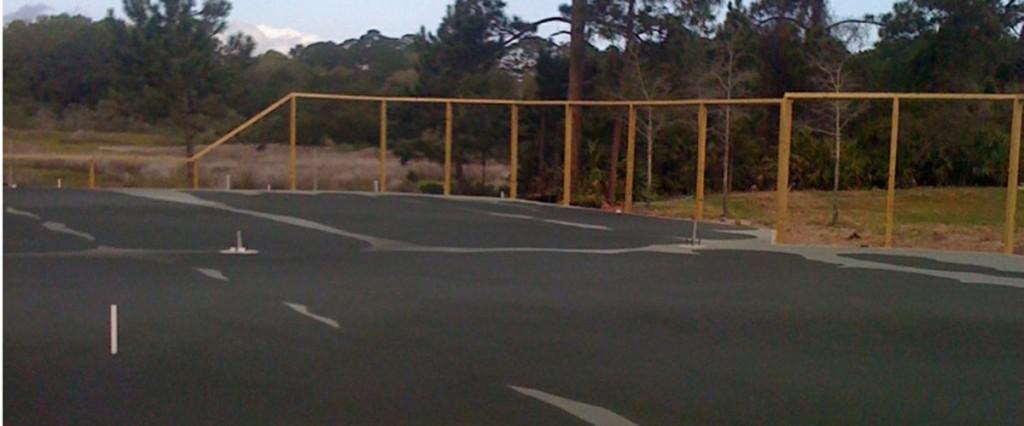 Harbour Island Tennis Centre -  Construction